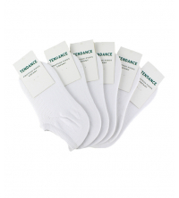 Lots 6 chaussettes blanches