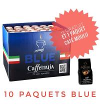 10 Capsules Ginseng Cafféitalia- Compatible nespresso