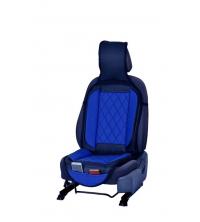 Couvre siège simili cuir Bleu