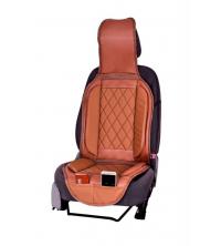 Couvre siège simili cuir Marron