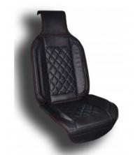 Couvre siège simili cuir Noir