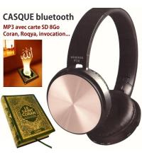 CASQUE BLUETOOTH P39 4.2 + EDR STEREO EXTRA BASS - Rose