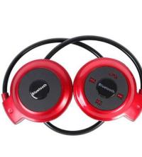 Mini Casque Bluetooth 503TF - Rouge