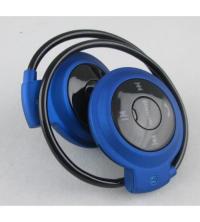 Mini Casque Bluetooth 503TF - Bleu