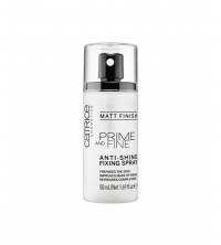 Spray de fixation anti-brillance CATRICE Prime et Fine - Finition mate