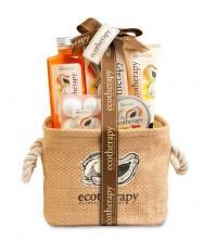 Set pour la salle de bain Ecotherapy (6pcs) - Mangue et Papaye