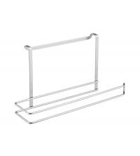 Porte rouleau papier cuisine - 34 x 10 x 18 cm - 35.06.06 - Gris - Garantie 5 ans