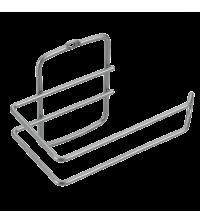 Porte rouleau papier wc : 14x8x10 cm - 46.04.11 - Gris - Garantie 5 ans