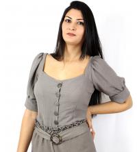 Chemise pour femme TAUPE