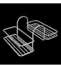 Panier de rangement pour baignoire - 40.42.06 - Gris - Garantie 5 ans
