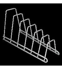 Porte couvercles à poser - 34x15x18 cm - 36.10.06 - Gris