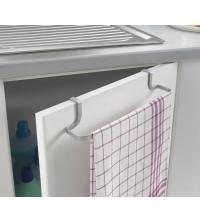 Support de rangement pour serviette et torchon : 30x8x5 CM - 35.06.04 - Gris - Garantie 5 ans