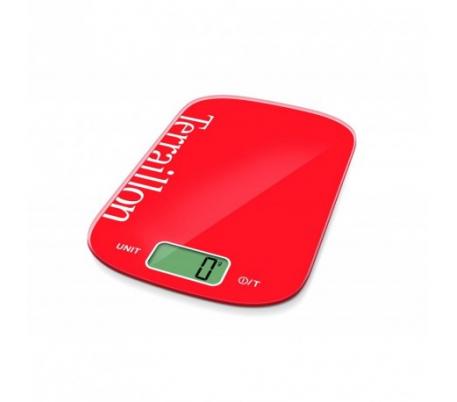 Balance de cuisine TERRAILLON 12626 6kg Rouge