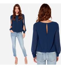 chemise bleu chic pour femme