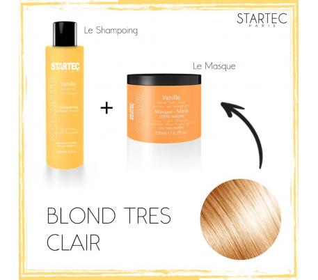 pack soin de cheveux VANILLE- Blond très clair