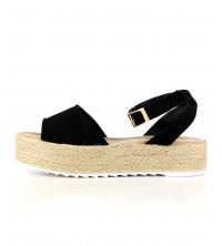 Sandales femme Noir