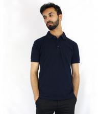 Polo pour Homme Bleu Marine
