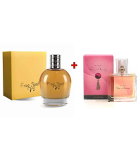 Lot Parfum Homme Free Spirit - 100ml - Et - Parfum Femme Faraway - 30ml