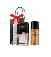 Lot - Cadeau - Homme - Parfum Black Suede Night - 75ml - Déodorant Black Suede Intense - 150ml