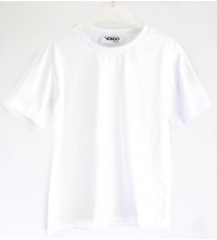 T shirt Enfant colle rond Blanc