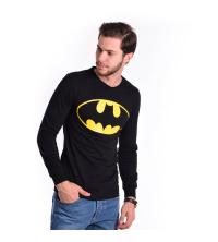 Pull Batman - Manches Longues - Col Rond - Coton - Noir