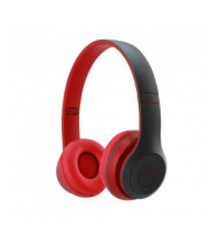 Casque P47 Bluetooth 4.1 - Portée: jusqu'à 10m - Autonomie jusqu'à 6 heures - Rouge