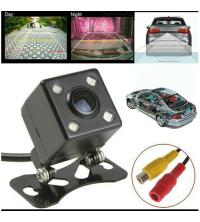 caméra de recul adaptable pour les postes radio écran et moniteurs