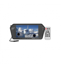 "Rétroviseur Intérieur MP5 7""DVD USB SD Bluetooth Led Full HD"