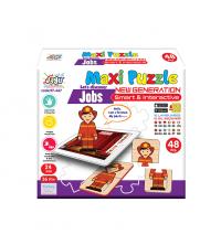 Puzzle- Les Métiers-Animé par Smartphone - 48 PCS