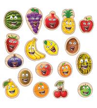 Puzzle- Les Fruits- XXL Animé par Smartphone-36 PCS
