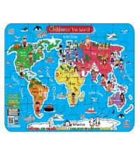 Puzzle - Le Monde- Grand Format Animé par Smartphone-24 PCS