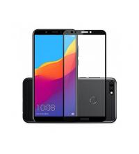 Glass 11D pour Huawei Y7 Prime 2019 - Couverture complète - Noir