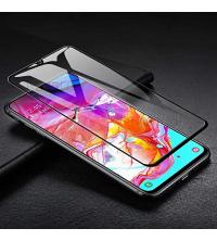 Magic Glass - Full Glue - Pour Samsung Galaxy A20 - Couverture Complète - Noir
