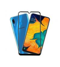Glass 11D - Pour Samsung A40 - Couverture Complète - Verre - Noir