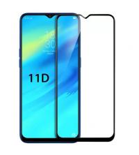 Glass 11D - Pour Samsung Galaxy A50 - Couverture Complète - Noir