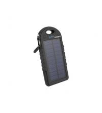 Power Bank Solaire Noir 8000 mah