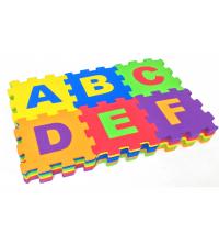Puzzle en Mousse XL Chiffres et Lettres 36 PCs- 12*12 CM