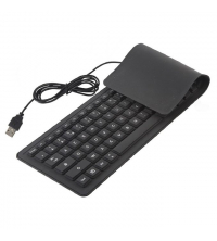 Clavier Flexible - Noir