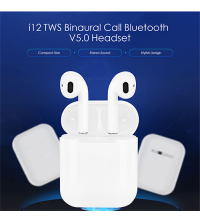 i12 TWS Wireless Bluetooth 5.0 Earbuds Headphones Earphone for All Smart Phone