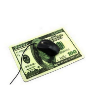 Tapis de Souris Billet $100 dollars