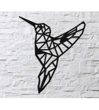 Oiseau - 63/55cm - Noir