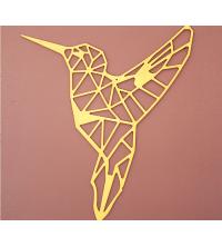 Oiseau - 63/55 cm - Gold