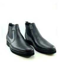 Boots - Slips-on - Cuir - Matt - Noir
