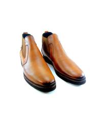 Boots - Slips-on - Cuir - Matt - Marron