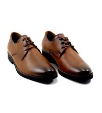 Chaussures - Touristique - Cuir - Marron