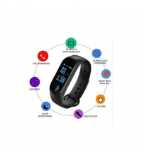 Smart Band - Santé - Sport M3 - Garantie 1 An