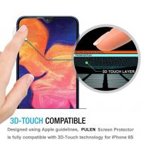Glass 11D - Pour - Samsung A10S - Couverture Complète - Verre - Noir