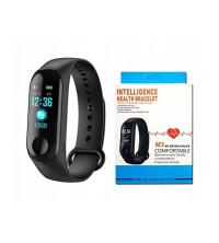 M3 Fitness Band Intelligence Health Bracelet - Noir