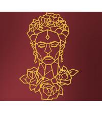 Frida - 96/65 cm - Gold