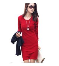 Robe rouge milano chic et classe